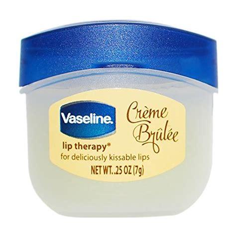 Vaseline Saudi vaseline lip therapy creme brulee 0 25 oz buy in