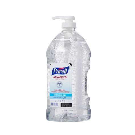 purell hand sanitizer  ml ethyl alcohol gel pump bottle
