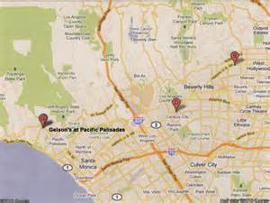 pacific palisades california map babylon nights tidbit 7 tour johnny depp zone