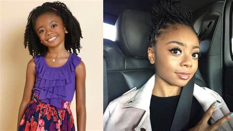 Sabrina Syari Black disney channel then now 2017