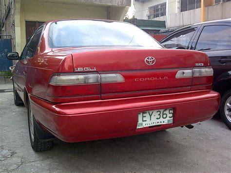 Toyota Corolla 93 93 Toyota Corolla Gli Bigbody A T For Sale From