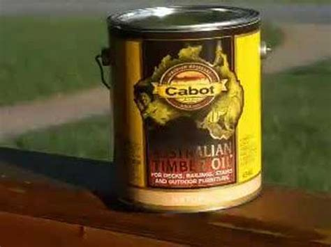 stain oil   deck youtube