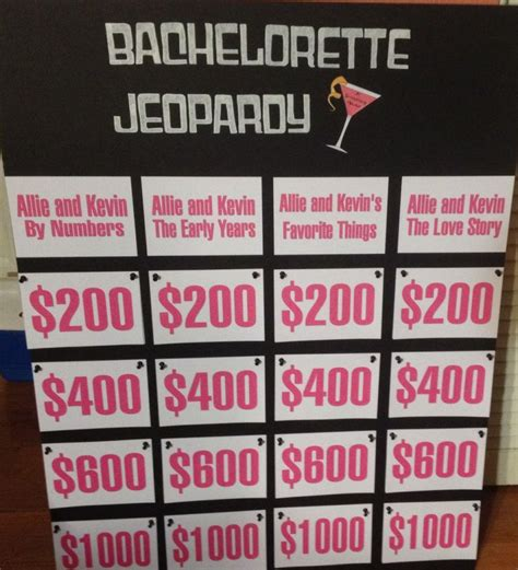 free printable bridal shower jeopardy game bachelorette jeopardy i made for allies bachelorette party