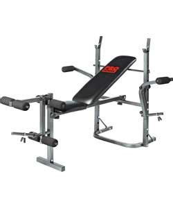 workout bench argos buy pro fitness multi use workout bench and fly at argos
