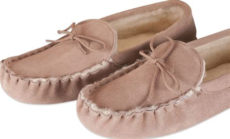 mens moccasin slippers soft sole nordvek mens genuine sheepskin moccasin slippers soft