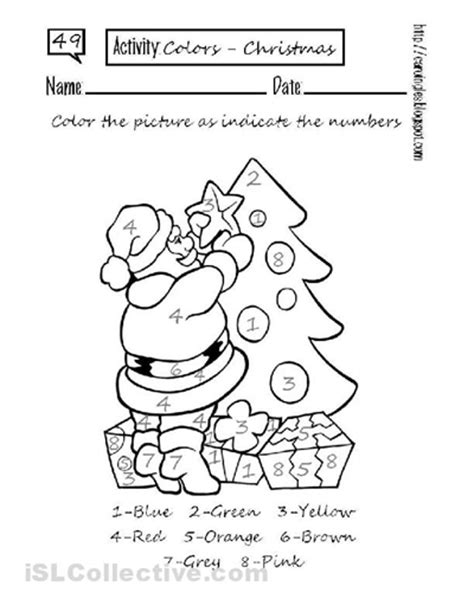 printable christmas kindergarten worksheets free printable christmas math worksheets 5th grade