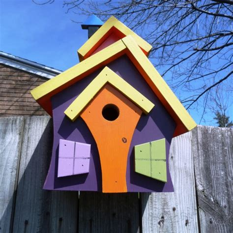Handmade Wooden Bird Houses - 15 decorative and handmade wooden bird houses style