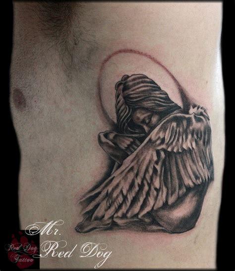 joses angel tattoo done at red dog tattoo benalmadena jose s angel tattoo done at red dog tattoo benalmadena
