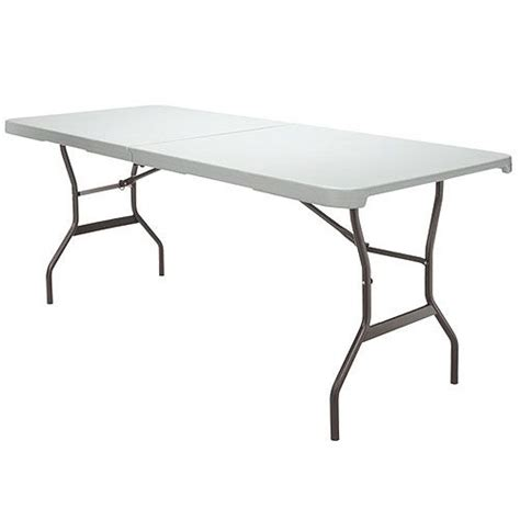 Lifetime Fold In Half Table by Lifetime Products 6 Ft Fold In Half Table