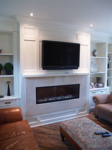 Living Room Fireplace Built Ins Paneled Fireplace And Built In Cabinetry Paneled Ceiling