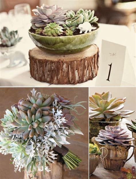 succulent decor 32 happywedd