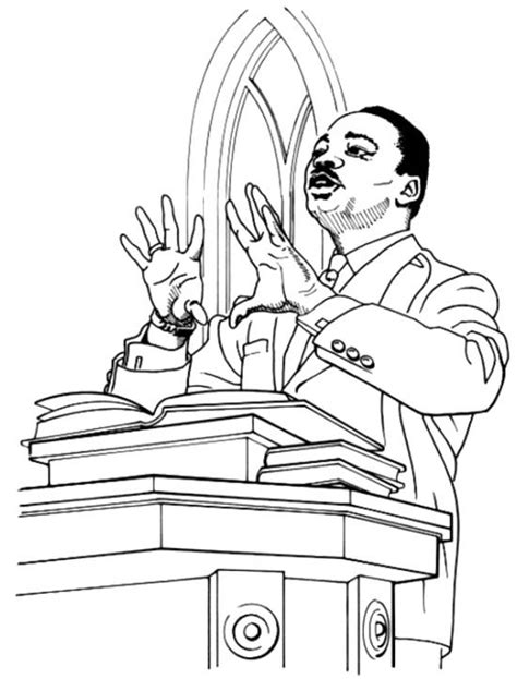 coloring page of dr king martin luther king jr coloring pages for kids coloring home