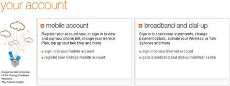 orange mobile account orange could do with a usability upgrade