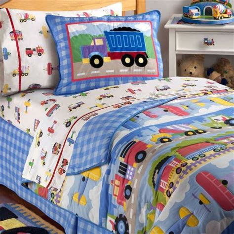 train bedding twin olive kids trains planes and trucks twin comforter sham