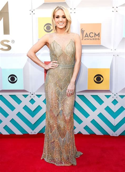 Carrie Underwood?s 2016 ACM Awards Dresses: Photos   Us Weekly