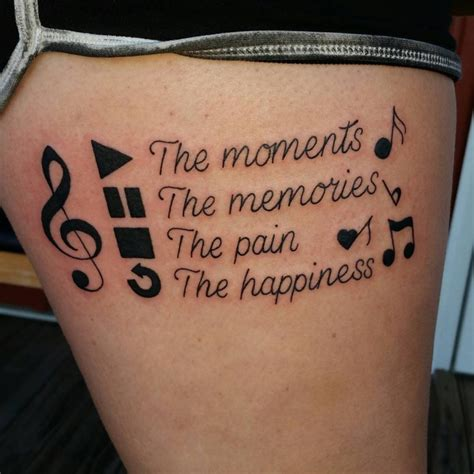 tattoo quotes music 22 music tattoo designs ideas design trends premium