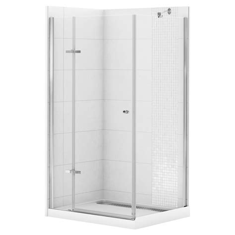 rona bathroom showers corner shower kit quot athena quot 42 quot x 34 quot rona