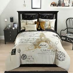 Black Damask Comforter Paris Bedding Find Premium Paris Eiffel Tower Bedding