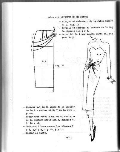 COSIENDO LA MODA: Falda con drapeado