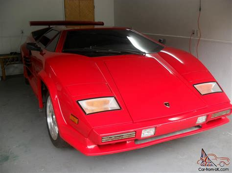 Lamborghini Chassis For Sale Lamborghini Countach S 5000 Chassis V 8 Car