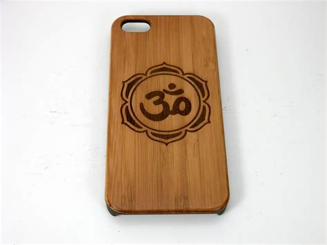 Eco Iphpne 7 Plus om lotus flower iphone 7 plus eco friendly bamboo wood