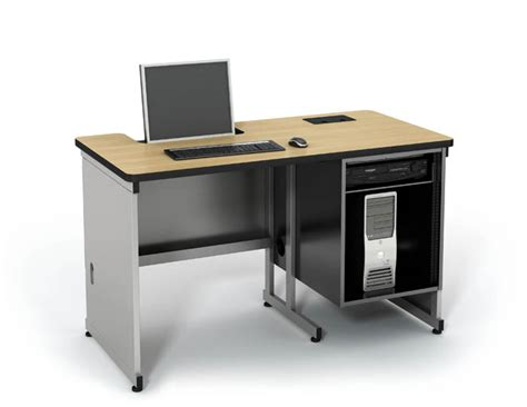 Computer Comforts by Recessed It Table Computer Lab Table Classroom