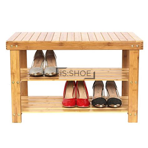 bamboo shoe rack bench lushea bamboo shoe rack bench isshoe singapore