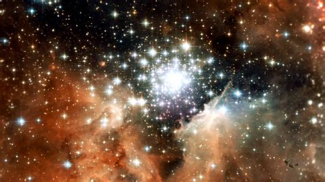 hubble zooms  star cluster ngc  p youtube