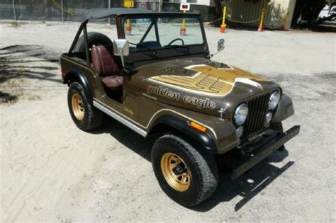 1977 Jeep Golden Eagle Find Used 1977 Jeep Cj 5 Golden Eagle In Ventura