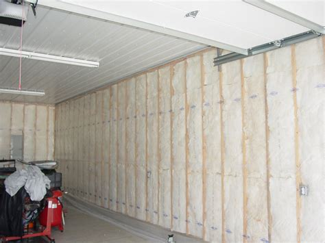How To Insulate An Attached Garage by How To Install Garage Insulation