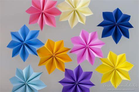 como hacer una guirnalda con circulos de papel moldes y patrones guirnalda con estrellas de papel gu 237 a de manualidades