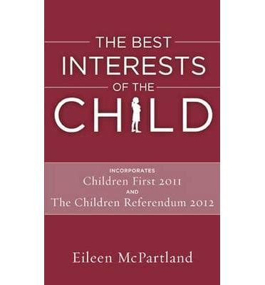 best interest on the best interests of the child eileen mcpartland