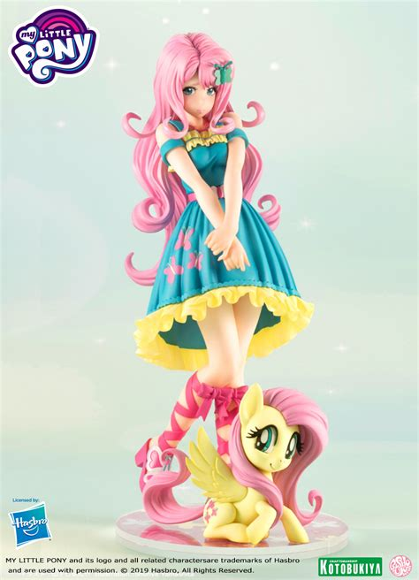 kotobukiya news rarity prototype  fluttershy pre orders mlp merch