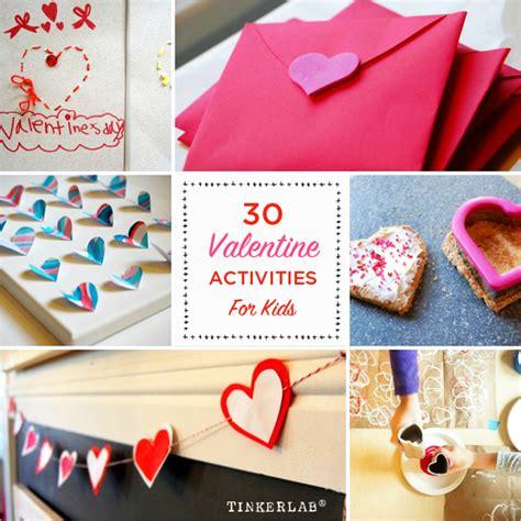 valentines activities for children activities for