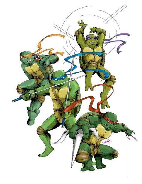 pictures of animated turtles