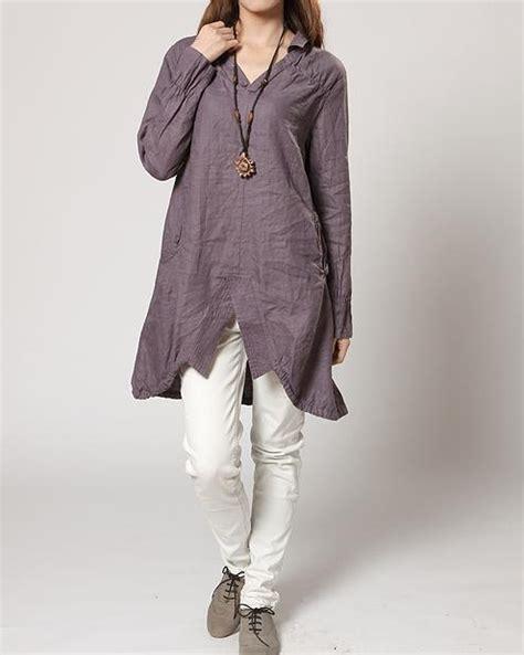 Asymmetric Tunik Blouse Miyaz Set Celana clothing jacket blouse shirt image 439626 on favim