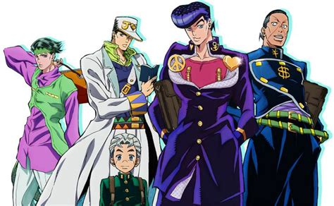 jojos bizarre adventure part 1421578816 anime jojo s bizarre adventure diamond is unbreakable visuals and op unveiled http www