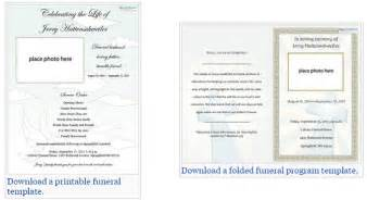 Funeral Program Template Free by Our Favorite Actually Free Funeral Program Templates