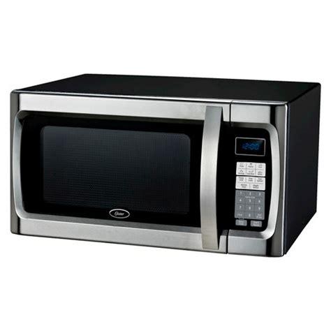 oster 1 3 cu ft 1100 watt microwave oven black ogzf1301 target