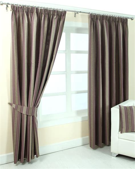 striped purple curtains purple jacquard curtain modern striped design fully lined