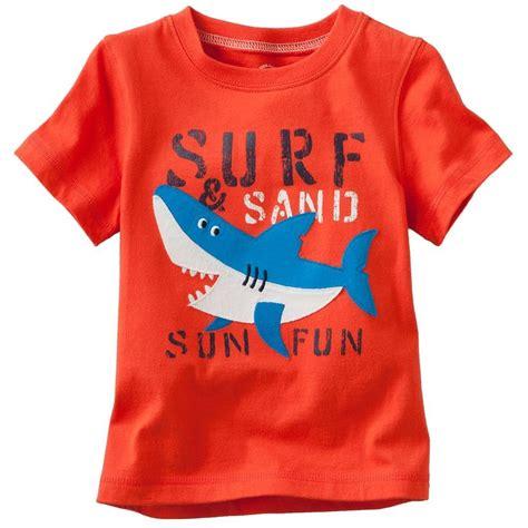 Child T Shirt boys tees font b shirts b font shark t font b shirts