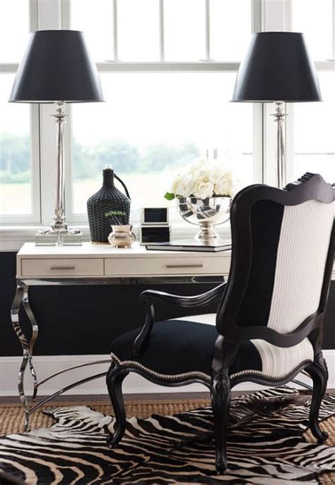 Black And White Desk Chair Design Ideas Interior Inspiration Moi Contre La Vie