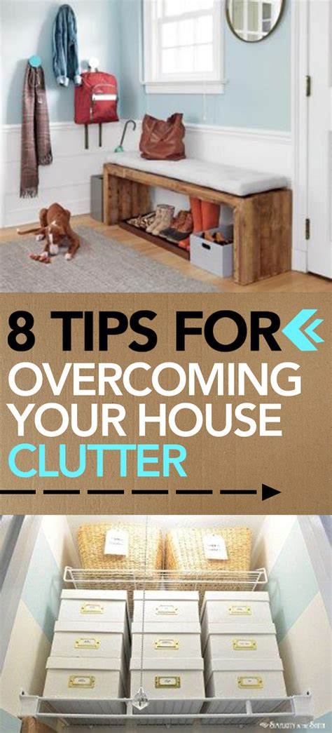 024 tips for conquering your 8 tips for overcoming your house clutter