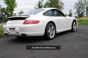 2008 Porsche S 2008 Porsche 911 S Coupe 2 Door 3 8l