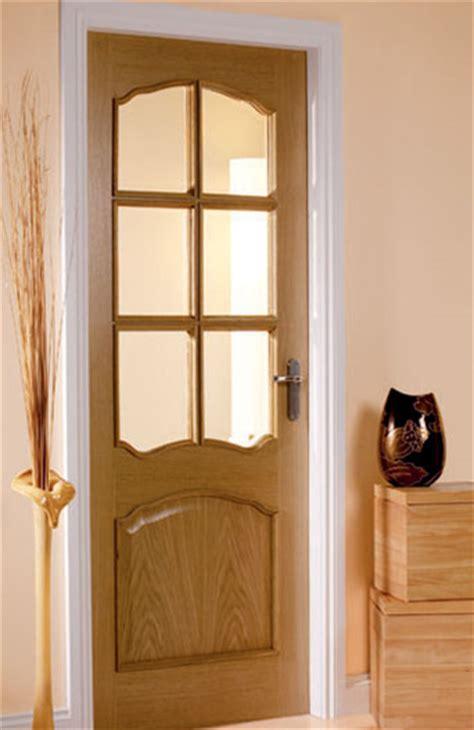 Glazed Oak Doors Interior by Louis Oak Pre Glazed Interior Door