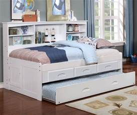 Diy Bookshelf Daybed Size Bookcase Captains Day Bed In White 0222 Day