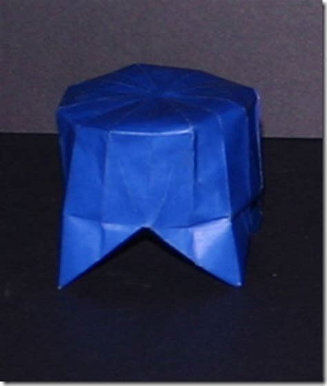 Origami Display Stand - circus pedestal display stand favor origami