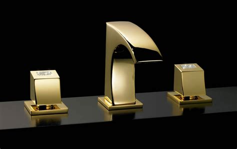 maier luxury faucets adorned with swarovsky crystals