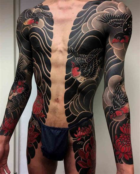 yakuza style tattoos best tattoo ideas gallery