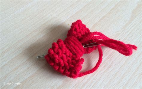 how to knit a bow the disney inspired knit mini bow just be crafty